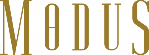 Modus Logo Type Gold